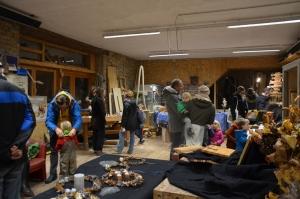 Holzatelier bei Veranstaltung